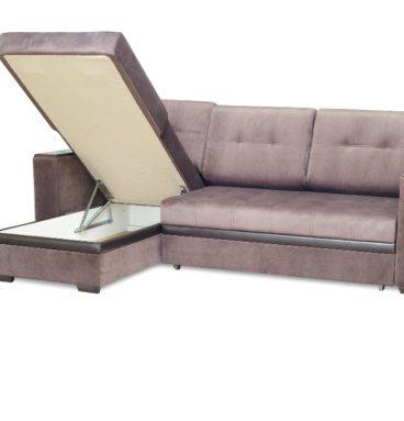 Аметист диван угловой БС-2