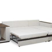 Аметист диван угловой разложенный