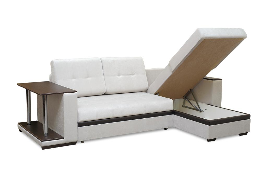 Аметист диван угловой с коробом