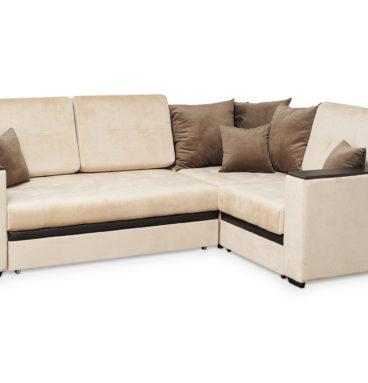 Аметист диван угловой с полукреслом.1