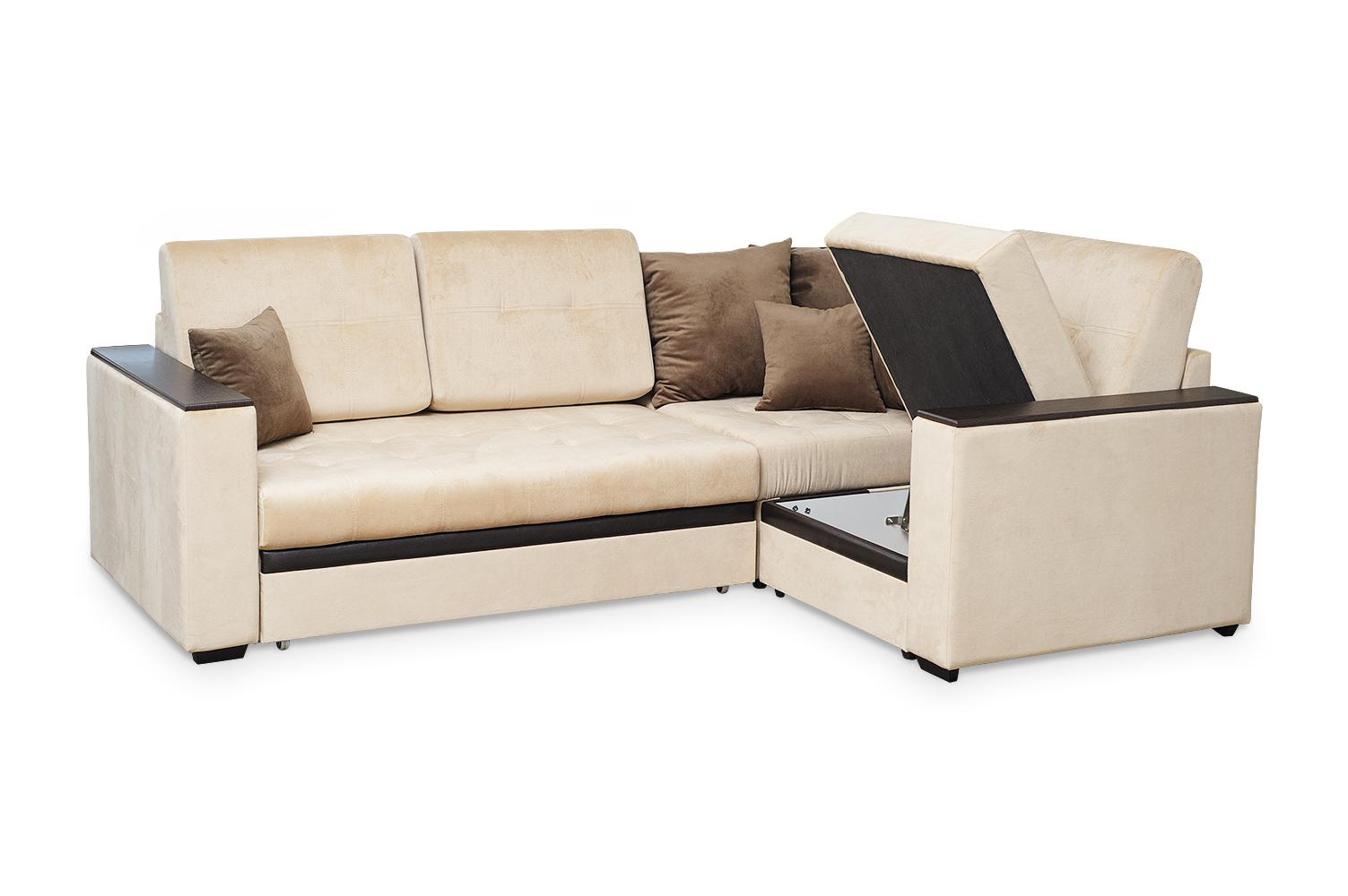 Аметист диван угловой с полукреслом.4