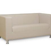 Офис 1 диван 2-х местный (серый)