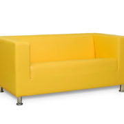 Офис 1 диван 2-х местный (желтый)