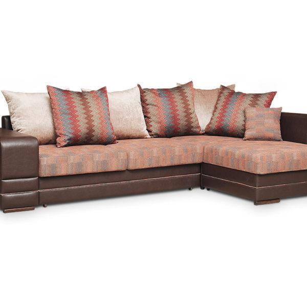 Рубин 4 диван угловой старндарт 1(с пуфом).104