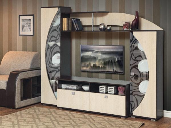ТВ тумба Олимп-М08 венге