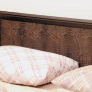 Кровать с настилом (спальное место 1400х2000) фасад коричневый