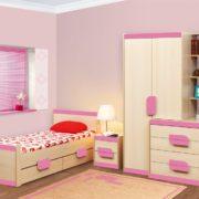 Детская Лайф розовая