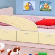 Кровать (дельфин) ваниль