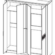 Шкаф для одежды 06.235