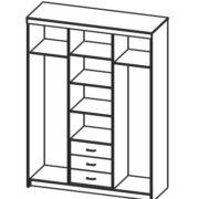 Шкаф комбинированный 06.245