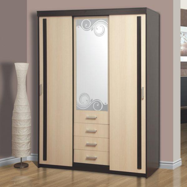 Шкаф комбинированный 06.245 венге