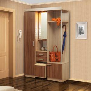 Шкаф комбинированный Дебют-4 ясень