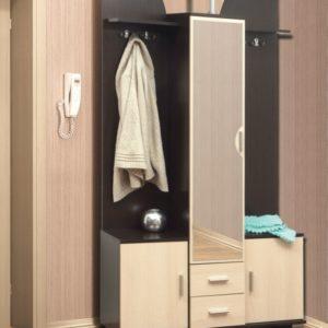 Шкаф комбинированный Кармен-6 венге