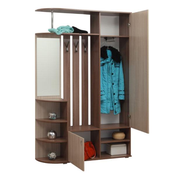 Шкаф комбинированный Кармен-7 ясень
