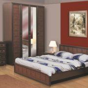 Спальня Волжанка коричневая