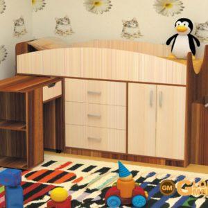 Кровать детская Рокси слива