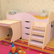 Кровать детская Тошка лаванда