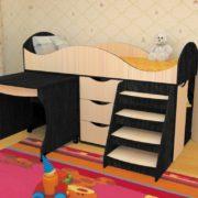 Кровать детская Тошка венге