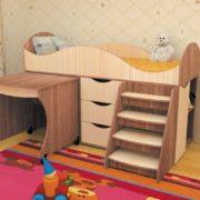 Кровать детская Тошка ясень