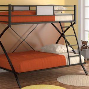 Двухъярусная кровать Виньола черная