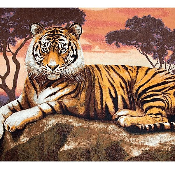 Картина гобелен Тигр
