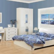 Спальня Мона белая