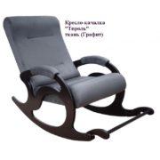 Кресло-качалка Тирроль серая ткань