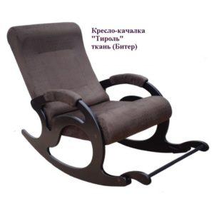 Кресло-качалка Тирроль ткань