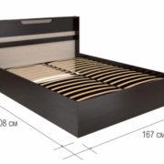 Кровать Юнона 1.6 ортопед