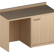 Мебель для гостиниц Кредо (32) Стол с тумбой под минибар