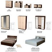 Спальня ЮНОНА модули