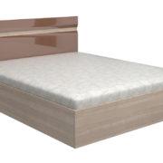 Кровать Ненси Ясень Какао