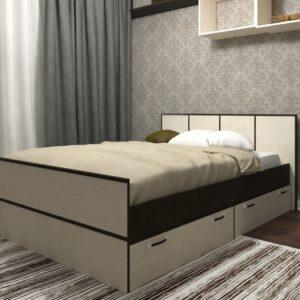 Кровать Весна 140 ОСНОВАНИЕ ЛДСП 1400х2032