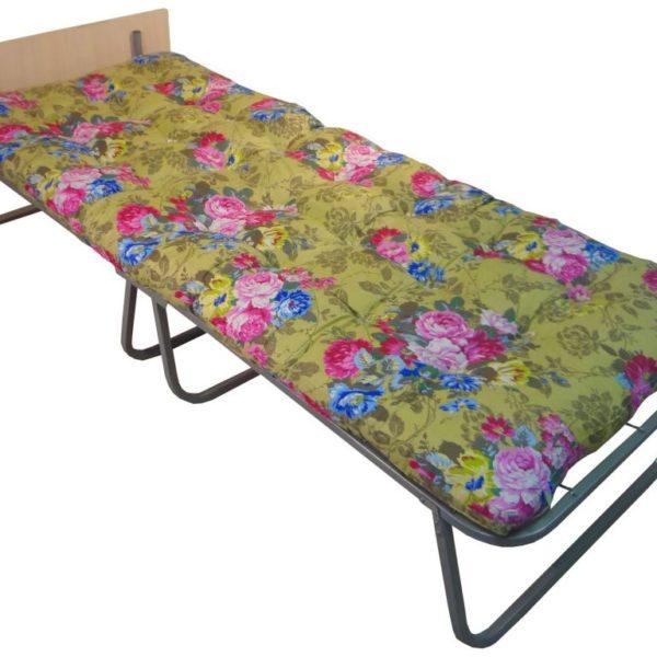 Кровать раскладная (раскладушка) Волна 700C со спинкой (1)