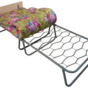 Кровать раскладная (раскладушка) Волна 700C со спинкой (2)