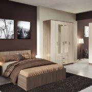 Спальня Ронда Шкаф ШКР 1600.1