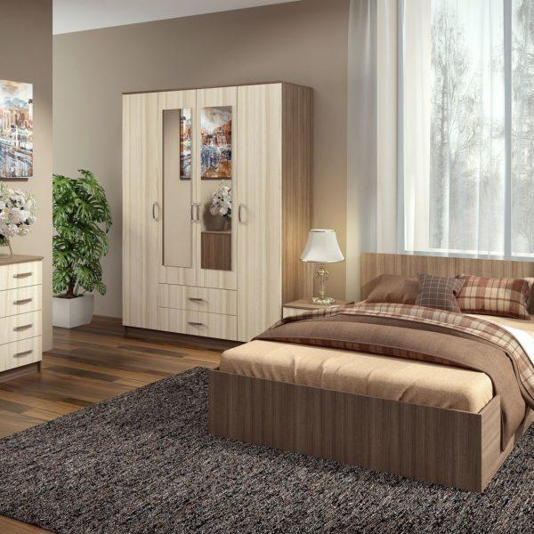 Спальня Ронда с 4дв шкафом