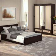 Спальня Ронда с Шкафом-купе 1.5