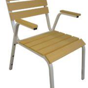 Кресло для улицы Ривьера (светлое)