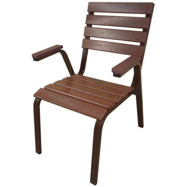 Кресло для улицы Ривьера (темное)
