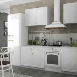 Кухня Гранд 1.5 Белый