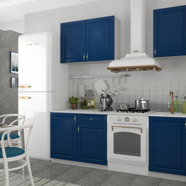 Кухня Гранд 1.5 Синий