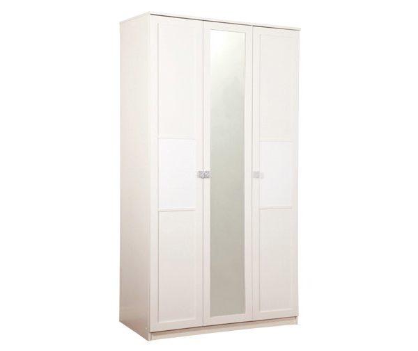 Шкаф Мона 3ств белый