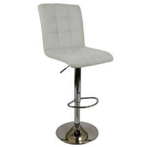 J68 барный стул белый