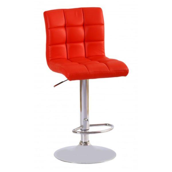 J68 барный стул красный