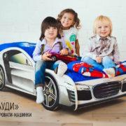 Кровать машина Марки Audi (8)