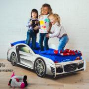 Кровать машина Марки Audi (9)