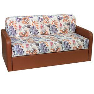 Каспер диван-кровать малогабаритный (Canvas Collektion Filin Mango, к.з Sontex Brendy)