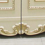 Комод с зеркалом «ДЖОКОНДА» крем (фото-4)