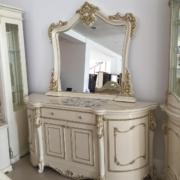 Комод с зеркалом «ДЖОКОНДА» крем (фото-7)